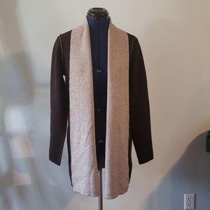 Eileen Fisher wool/cashmere cardigan